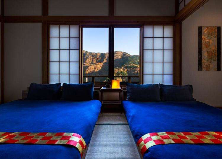 3 Japanese Modern Hakone Villas: Relax in a Japanese Home with Tatami Rooms!