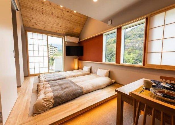在和風古厝裡度假放鬆~箱根推薦「日式現代風」別墅小屋3選