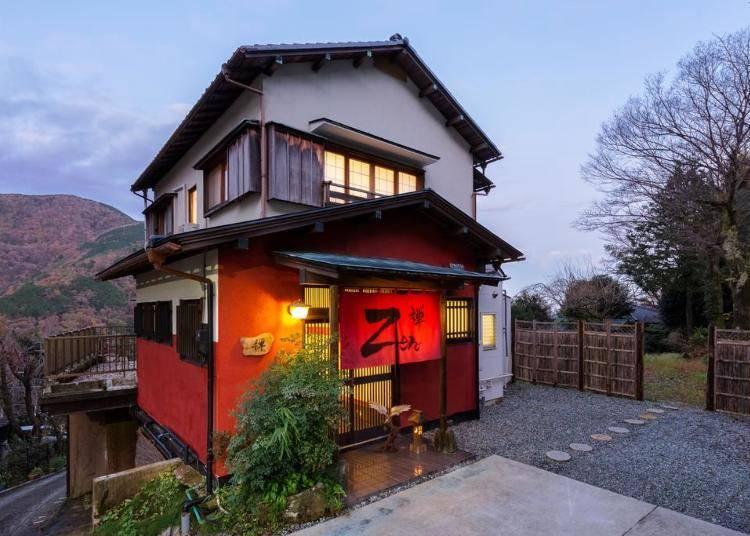1. 穿越回100年前的日本!?大正現代風Villa「禪」