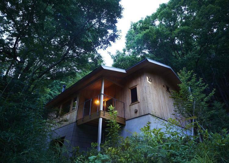 1. 体验在森林中泡汤的极乐享受「箱根Retreat Villa 1/f」