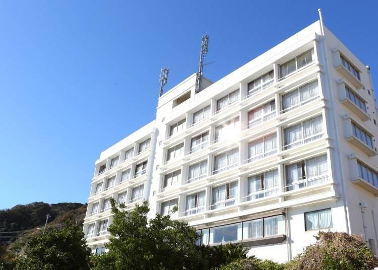 2. Shiosai Resort Kamogawa: Where you can enjoy the Sotobo Coast from up close