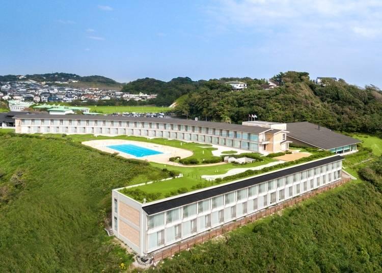5.普段とは違う鎌倉の一面が垣間見える「鎌倉プリンスホテル」