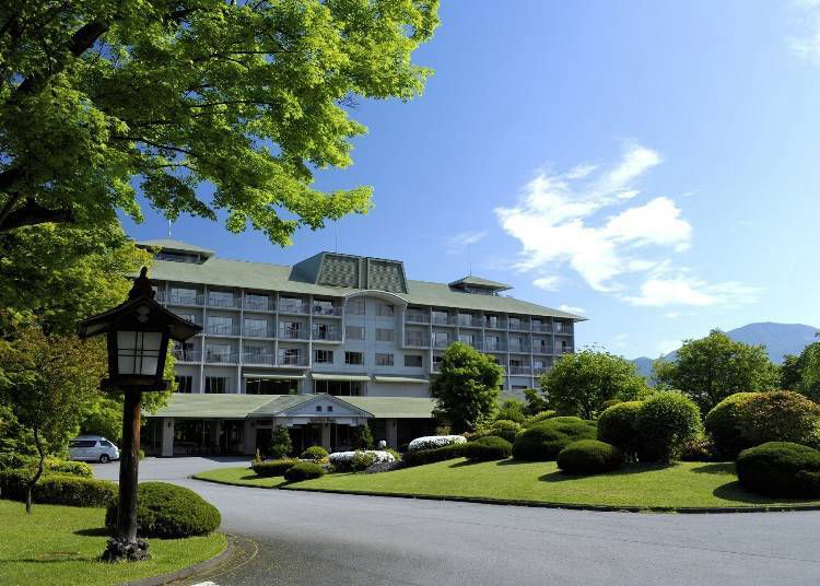 1. Fuji View Hotel: See the changing views of Mt. Fuji from this 100,000 square meter site