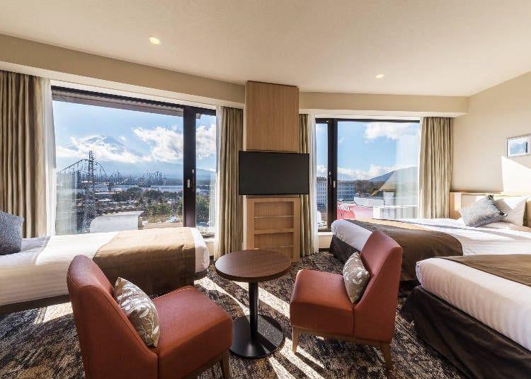 富士山附近的度假饭店5选~近河口湖、富士急乐园等,绝佳美景在眼前