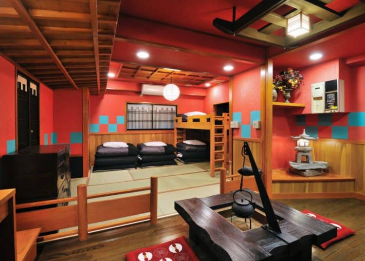 1.和×洋ミックスの内装が楽しい「カオサンワールド浅草旅館&ホステル」