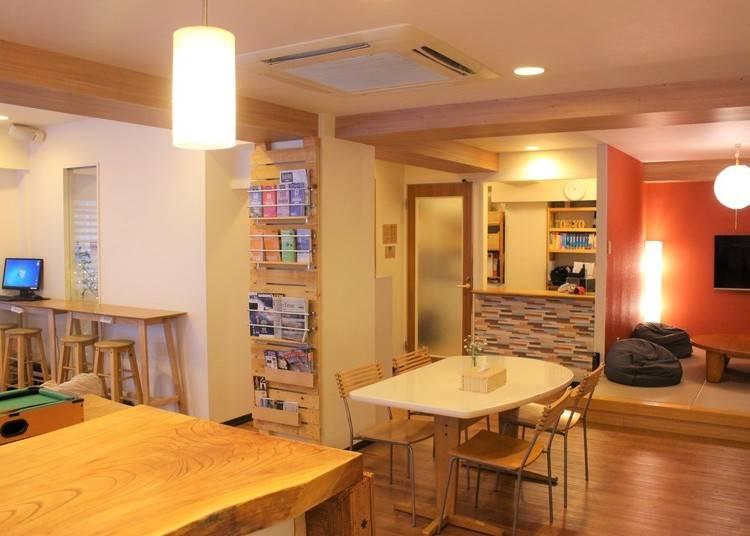 4.世界No.1のホステルがここに!東京の我が家のようにくつろげる「ケイズハウス東京」