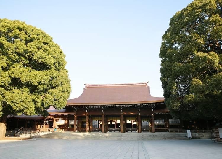 【明治神宮】参拝者数全国トップ!原宿、渋谷に近くて若者や外国人にも人気の初詣スポット