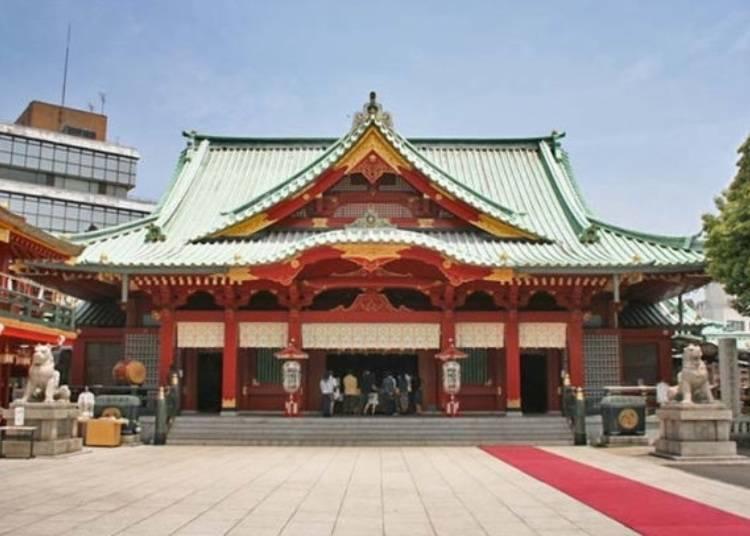 3.「神田神社(神田明神)」祈求商業往來繁盛就到這裡!