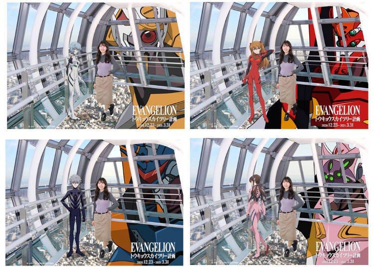 不只有這些!充滿各種巧思與樂趣的「EVANGELION in TOKYO SKYTREE®」