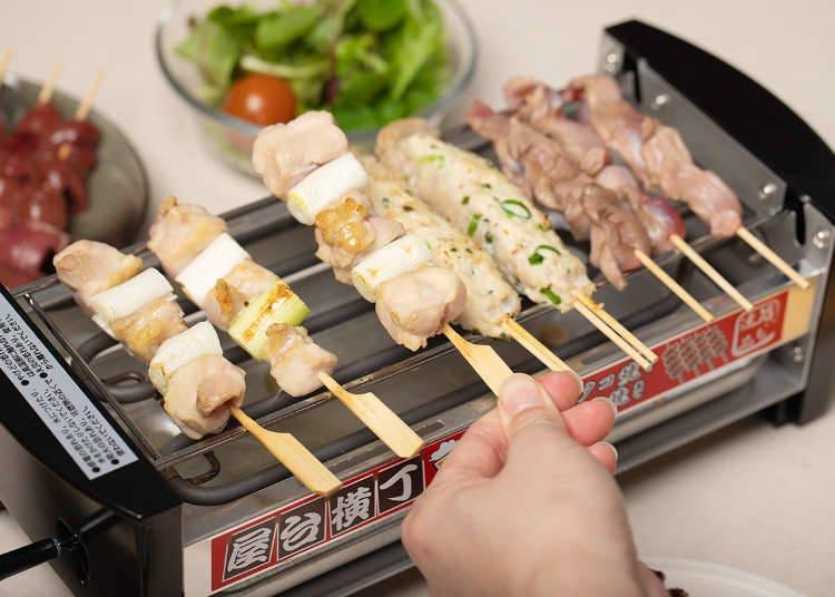 「屋台橫丁」串燒機讓你在家就能體驗居酒屋料理&氣氛!