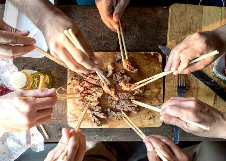 5 Essential Chopstick Tips to Know in Japan!