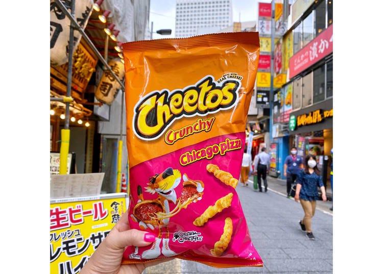 1. Chicago Pizza Flavor Cheetos