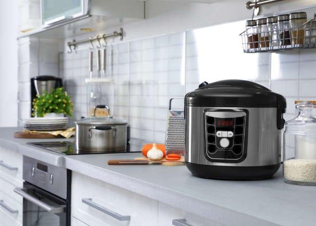 煮飯鍋、氣炸鍋的日語怎麼說?日本各種家電&相關單字詳細懶人包