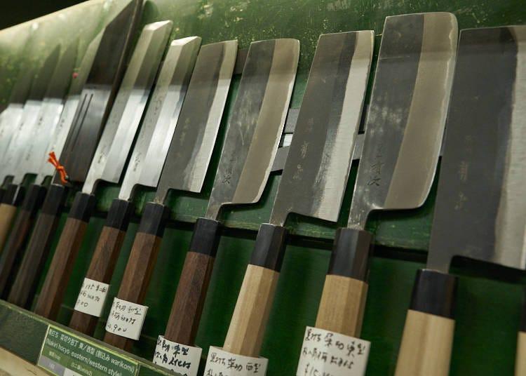 일본 주방칼과 서양 주방칼