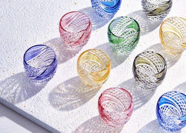 皇室御用達の優美なカットグラス「カガミクリスタルの江戸切子」の魅力