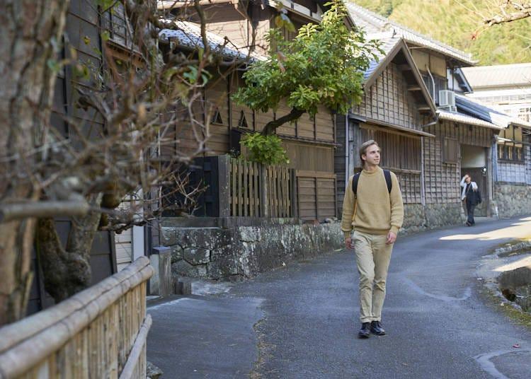 Feel Yaizu's history among the traditional streets of Hanazawa-no-Sato