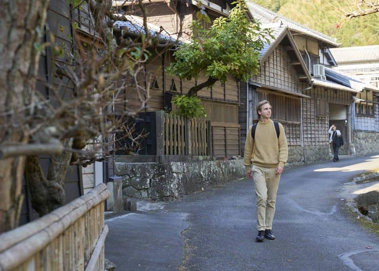 伝統的な街並みの「花沢の里」で焼津の歴史に触れる