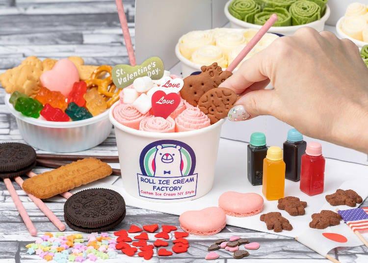 1. 在家自己裝飾超人氣甜品!「在家DE捲捲冰」