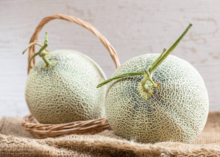 5. The best way to eat Japanese melons and skillfully cut them
