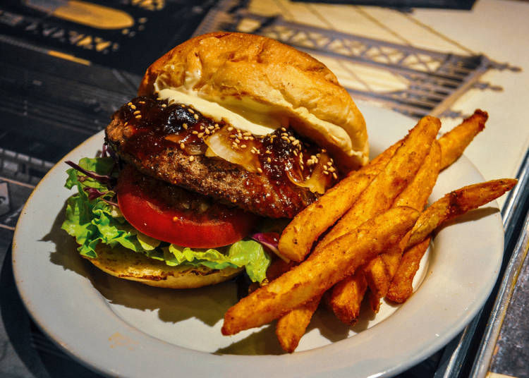 ① Teriyaki Burger