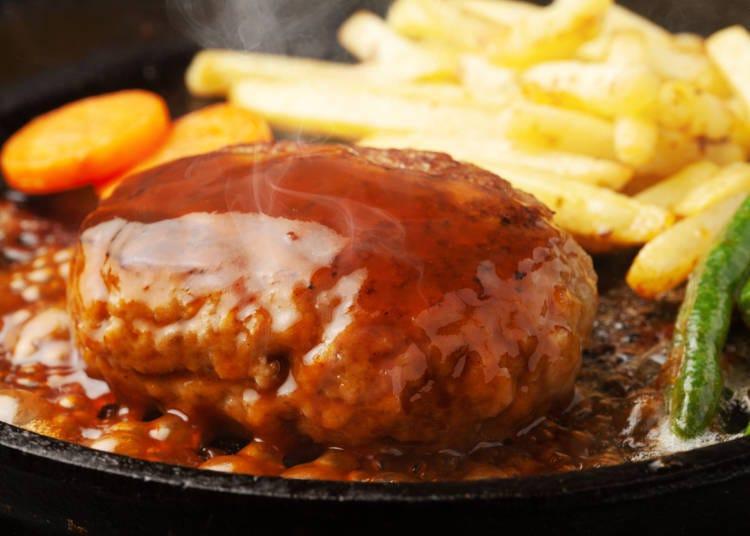 ②照烧汉堡排(照り焼きハンバーグ)