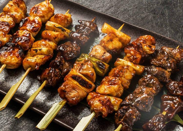 ④酱烤鸡肉串(焼き鳥・タレ)