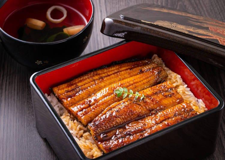 ⑥鳗鱼饭(うな重)