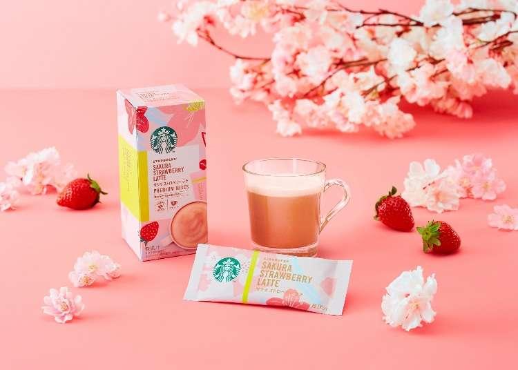 桜の香りがたまらない!華やかな「最新桜ドリンク&スイーツ」で一足早くおうち花見を