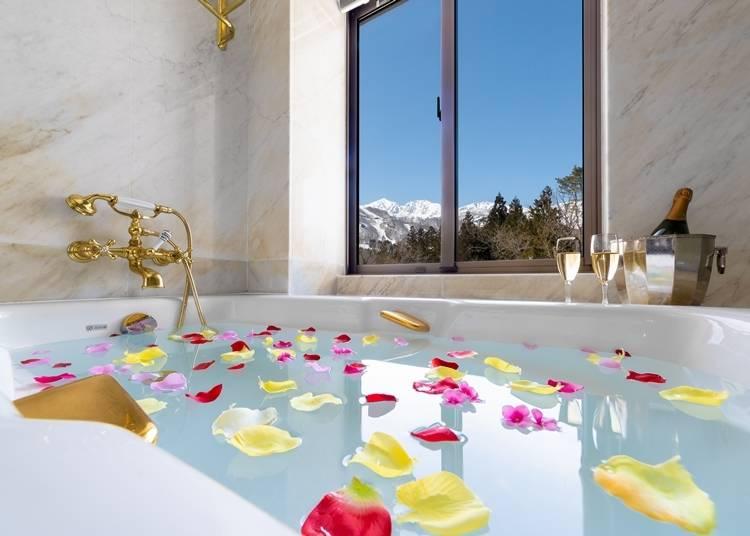 3.白馬東急ホテル:伝統を感じる上品な雰囲気たっぷりの上質なリゾートステイが叶うホテル
