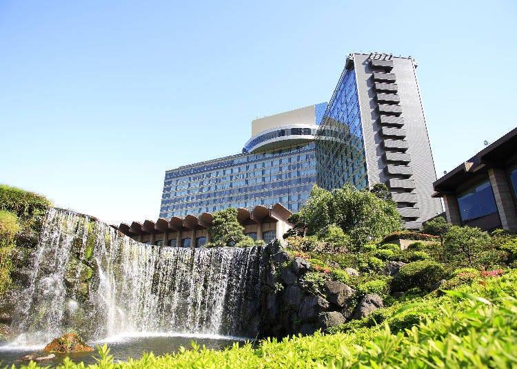 1.約400年もの歴史を持つ日本庭園で和を感じながら桜を愛でる「ホテルニューオータニ」
