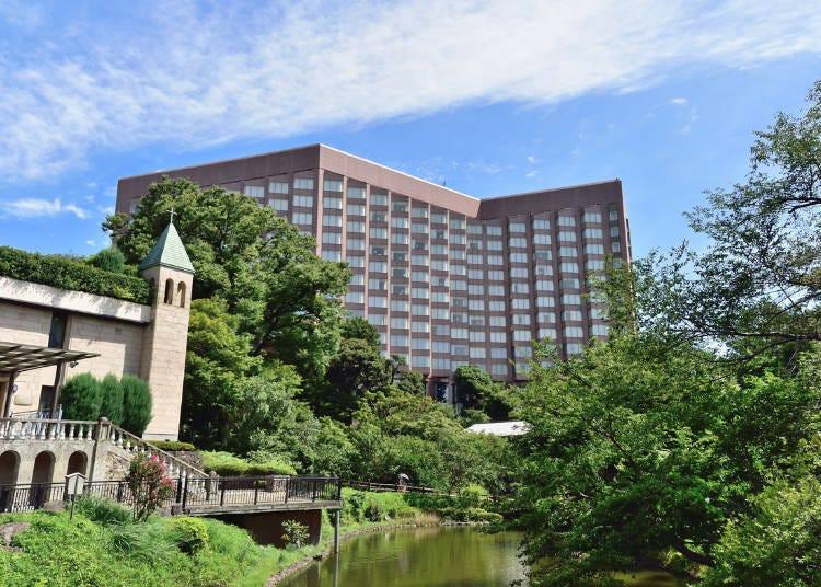 2. '운해'와 벚꽃의 콜라보! 신비로운 꽃놀이를 즐길 수 있는 '호텔 슌잔소 도쿄'