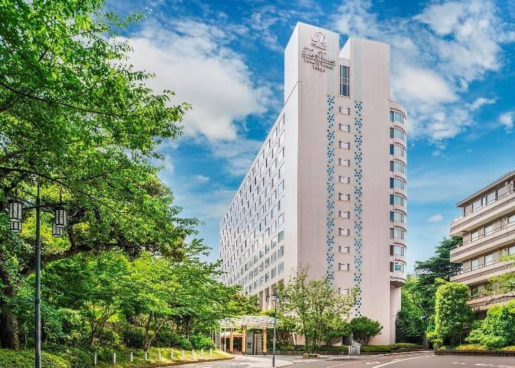 3. 프라이빗한 공간에서 봄 경치를 즐길 수 있는 객실도 있는 '더 프린스 사쿠라 타워 도쿄'