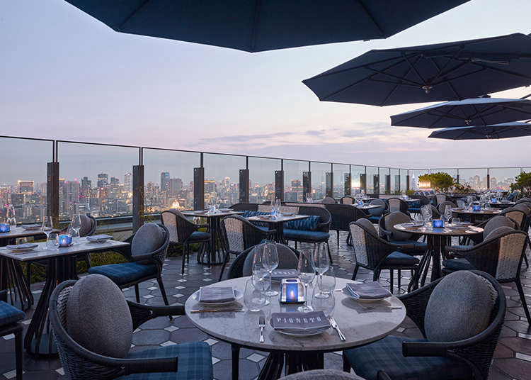 Tokyo Outdoor Dining: 3 Terrace Restaurants With Stunning Views (Freshly Opened in Spring 2021!)