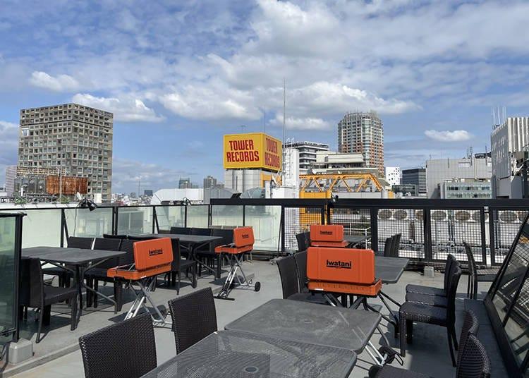1. Shibuya Jinnanken Rooftop BBQ - Rooftop Dining With Tokyo Panoramas!