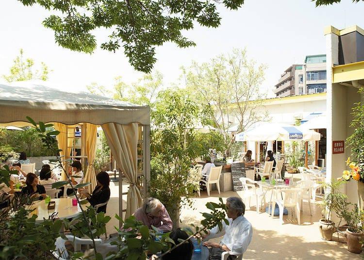 2. AOI NAPOLI - A Garden Pizzeria Adored by Locals