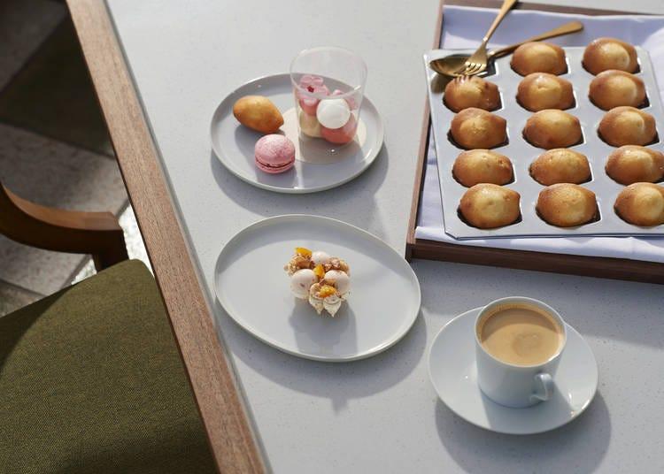 現代法式餐廳「est 」的下午茶Tea Time「Cafe Gourmand」