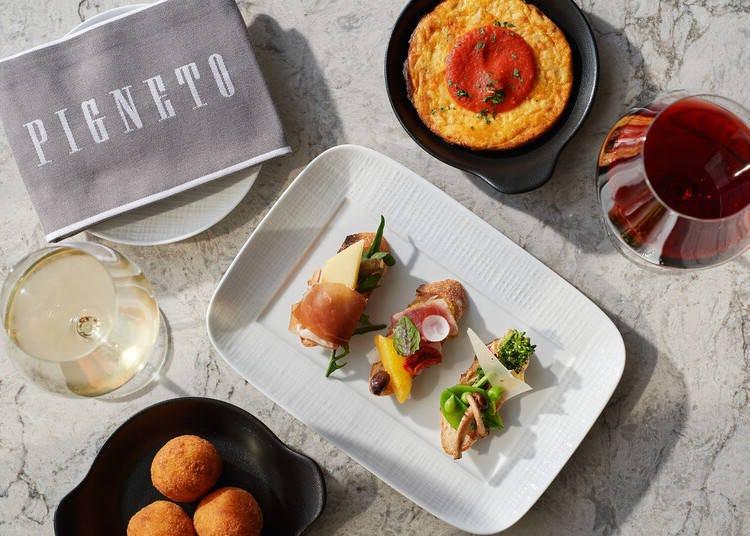 義式料理「PIGNETO」的Aperitivo
