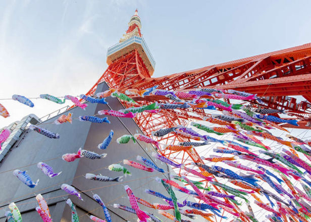 東京の名所でこいのぼり!2021年GWにおすすめのこどもの日イベント3選