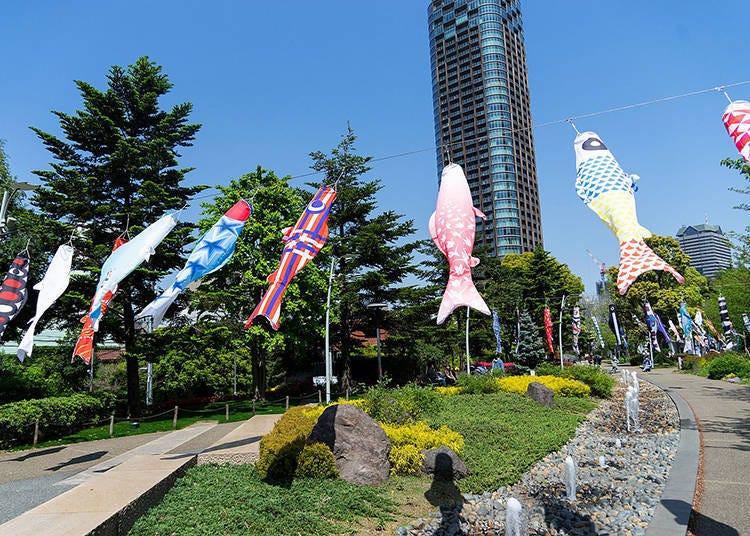 六本木中城~披上藝術氣息的非凡鯉魚旗「MIDTOWN OPEN THE PARK 2021」※部分活動中止舉辦,及變更部分內容