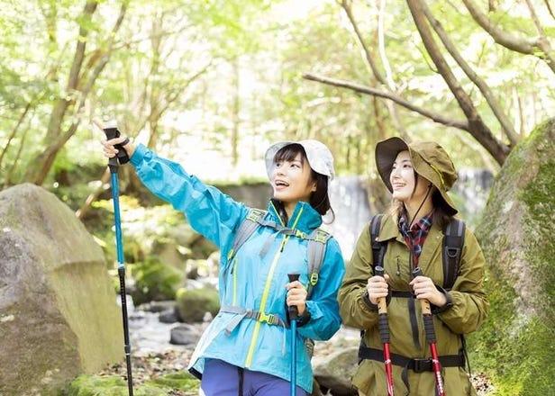 도쿄 및 주변지역의 당일치기 트레킹 코스 5곳 소개! 다카오산과 쓰쿠바산 정보도!