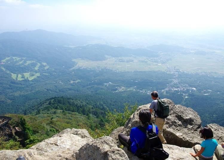 5.充滿能量靈氣的日本百大名山~筑波山