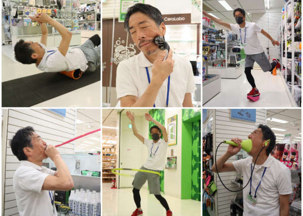 Exercise at Home! 10 Compact Japanese Fitness Products from Tokyu Hands