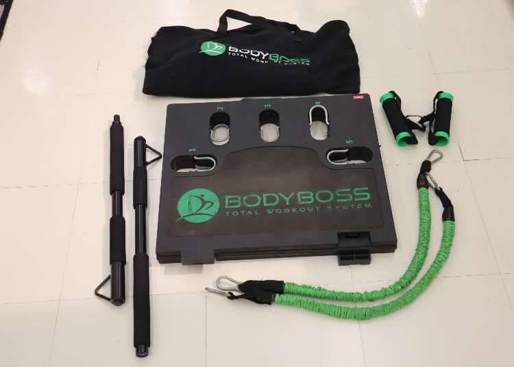 10)把健身房搬回家?! BODYBOSS行動健身房「BodyBoss 2.0 Extra Package」
