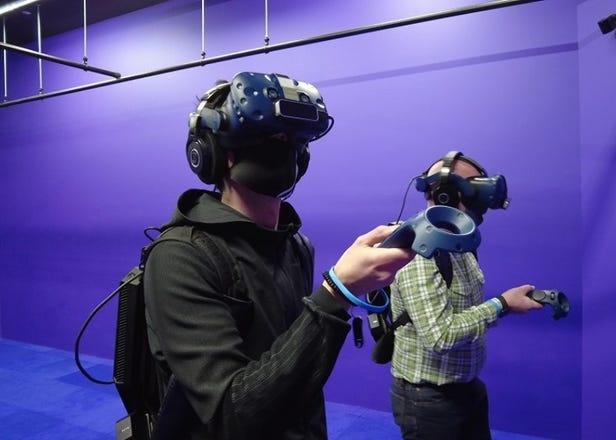 VRエンタメの進化がスゴイ!人気怪獣やITの世界をゲーム好き外国人が体験してみた