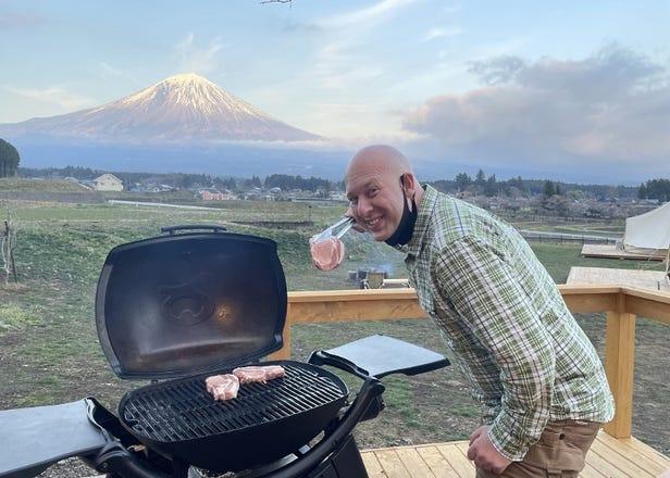 富士山を独り占め!? NEWオープンの「絶景グランピング」を外国人編集者が体験レポ!