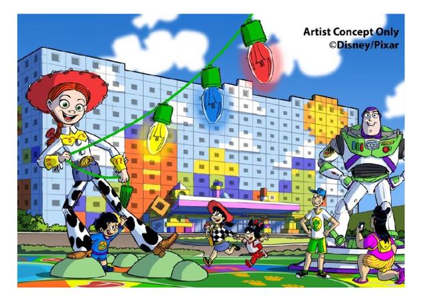 日本第5間迪士尼飯店!2021年預定開幕「東京迪士尼度假區玩具總動員飯店®」