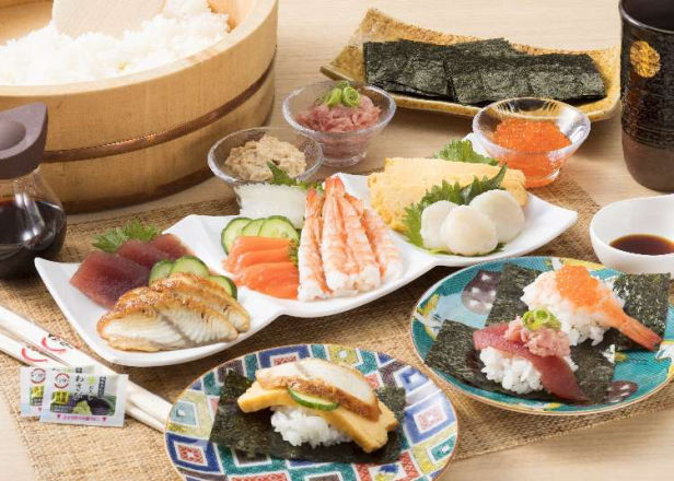 From 110 Yen!? Limited-time Spring Menu Items at Popular Conveyor Belt Sushi Restaurants (Including Takeout!)