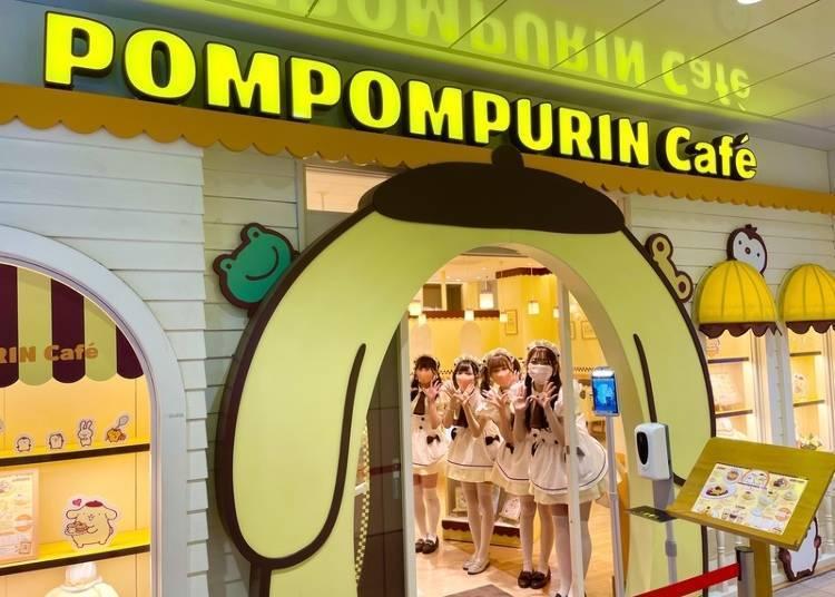 POMPOMPURIN Café-创造治愈美好回忆的原宿新景点