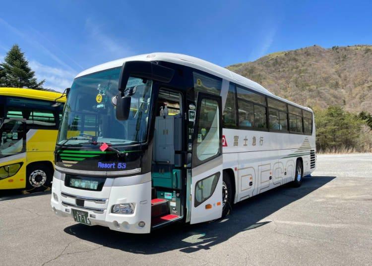 玩富士山周邊絕景景點超方便的「富士急行」巴士!