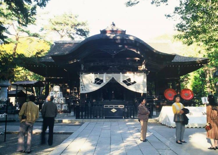 2. Takeda Shrine
